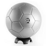 pelota de futbol nro 5 america gris plata